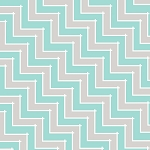 Sweet Harmony 9599-91 Gray Aqua Chevron by Henry Glass