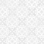 Holiday Magic 9798-01 White Snowflake Damask by Henry Glass