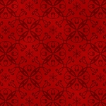 Holiday Magic 9798-88 Red Snowflake Damask by Henry Glass