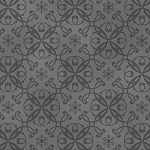 Holiday Magic 9798-99 Grey Snowflake Damask by Henry Glass