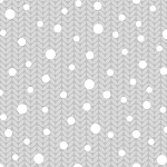 Holiday Magic 9802-90 Light Grey Sweater by Henry Glass
