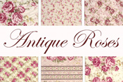 Antique Roses 50% off yardage