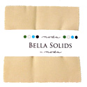 Bella Solids Charm Pack - 9900PP-12 Natural by Moda