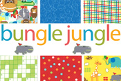Bungle Jungle 50% off yardage