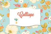 Calliope 50% off yardage