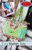 City Market Tote Pattern by Kati Cupcake