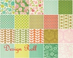 Clementine Design Roll by Heather Bailey for Free Spirit