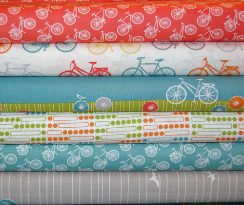 Commute Organic Quilt Fabric by Birch Fabrics