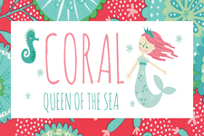 Coral Queen of the Sea
