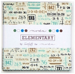Elementary Charm Pack by Sweetwater for Moda