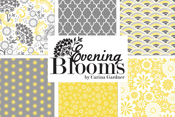 Evening Blooms 50% off yardage