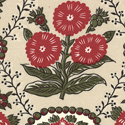 Fa La La La La 13581-12 Oyster Merry Rouge by French General for Moda