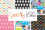 Geekly Chic 50% off yardage