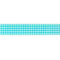 Teal Gingham 5/8 Grosgrain Ribbon by Riley Blake