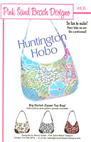 Huntington Hobo Purse/Handbag Pattern by Pink Sand Beach