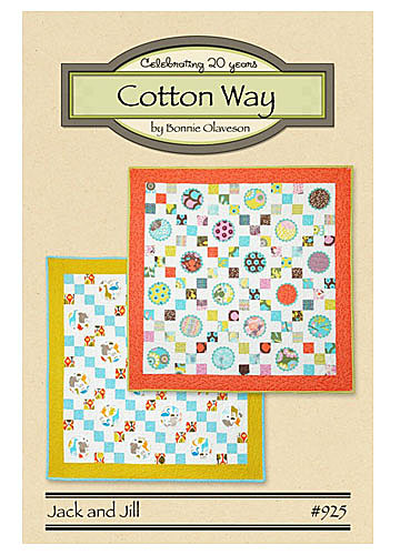 Cotton Way Jack And Jill Quilt Pattern The Quilted Castle