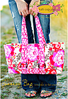 Journey Bag Pattern by Kati Cupcake