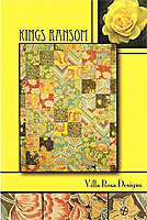 Kings Ransom Quilt Pattern/Card by Villa Rosa Designs