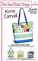 Kona Carry All Bag Pattern by Pink Sand Beach Designs