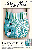 Lily Pocket Purse Pattern by Lazy Girl Designs