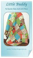 Little Buddy Quilt Pattern by Carlene Westerberg Designs