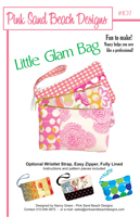 Little Glam Bag Pattern by Pink Sand Beach Designs