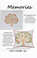 Memories Pillow/Wall Hanging Pattern by Don't Look Now