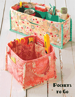 Pockets To Go Pattern by Atkinson Designs