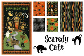 Scaredy Cats 40% off yardage