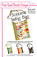 Sonoma Swing Bag Pattern by Pink Sand Beach Designs
