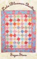 Sugar Stars Quilt Pattern by Late Bloomer Quilts