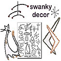 Swanky Decor Embroidery Pattern by Sublime Stitching