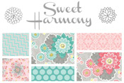 Sweet Harmony 40% off yardage