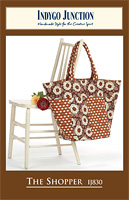 The Shopper Shoulder Bag Pattern by Indygo Junction