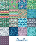 Violette Charm Pack by Amy Butler for Free Spirit/Westminster