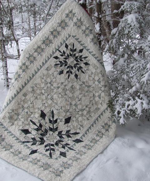 Winter Joy Quilt Pattern Border Creek Station