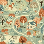 Acorn Trail Organic Acorn Trail Map by Teagan White for Birch