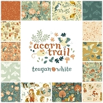 Acorn Trail Organic 13 Fat Quarter Set by Teagan White for Birch