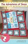 The Adventures of Seuss Quilt Pattern by It's Sew Emma