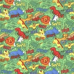 Animal Alphabet 10769-11 Multi Animals by Moda EOB