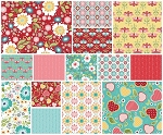 Apple of My Eye 14 Fat Quarter Set by Riley Blake
