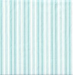 Ava Rose TW03 Aqua Stripe by Tanya Whelan for Free Spirit EOB