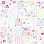 Ballet Rose 27 Fat Quarter Set by Rachel Ashwell