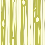 Bear Camp Organic Grass Bear Bois by Birch Fabrics
