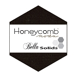 Bella Solids Honeycomb 9900HC-99 Black by Moda