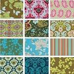 Belle 12 Fat Quarter Set in Full Bloom by Amy Butler for Westminster