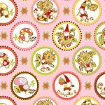 Better Gnomes & Gardens 2HDB2 Pink Medallions by In The Beginning
