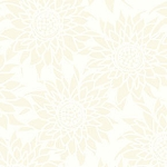 Better Gnomes & Gardens 6HDB5 White Tonal Floral by In The Beginning