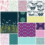 Biology Organic 14 Fat Quarter Set by Sarah Watson for Cloud 9