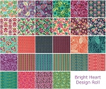 Bright Heart Design Roll by Amy Butler for Free Spirit